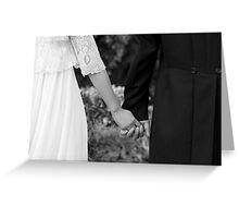 Wedding Hands Greeting Card
