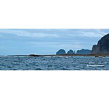 TASMAN PENINSULA ~ O'Hara Bluff, The Thumbs, The Lanterns by tasmanianartist Photographic Print