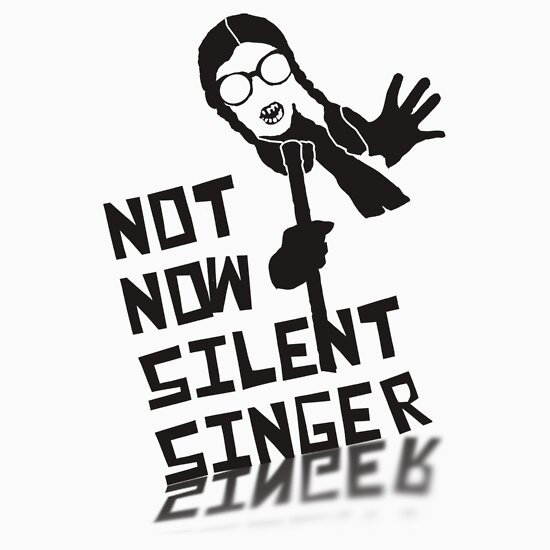 TShirtGifter presents: Psychoville: Not Now Silent Singer...