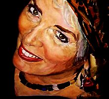 Xaviera Hollander watercolor by DeniseLaFrance4