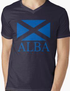 Alba (Scotland) Mens V-Neck T-Shirt