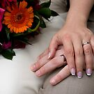 Wedding Hands by malinakphoto