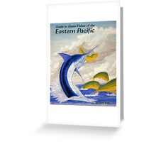 Fishes of the Eastern Pacific Greeting Card