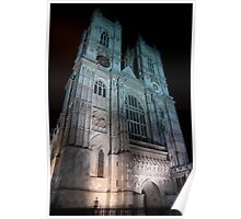 Westminster Abbey - by Night Poster