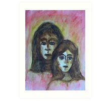 My Mother, My Self Art Print