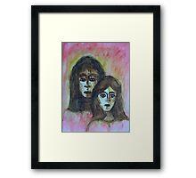 My Mother, My Self Framed Print