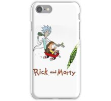 Rick and Morty Calvin and Hobbes iPhone Case/Skin