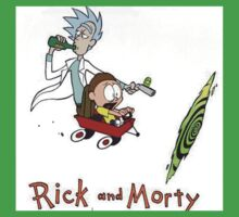Rick and Morty Calvin and Hobbes Kids Clothes