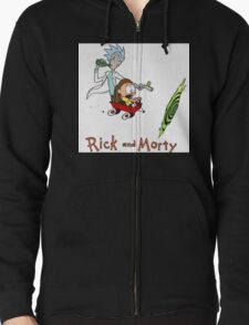 Rick and Morty Calvin and Hobbes T-Shirt