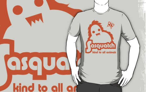 Sasquatch - kind to all animals by jaymoysey