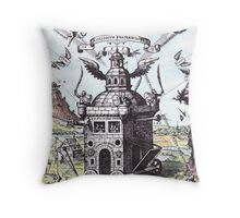 The Invisible College Throw Pillow