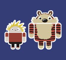 Boydroid and Tigerdroid T-Shirt