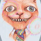 The Cheshire Cat 2 by Helena Wilsen - Saunders