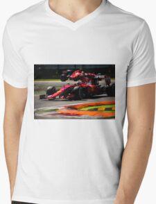 Ferrari formula 1 Mens V-Neck T-Shirt