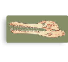 Gharial Skull Canvas Print