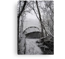 The lonely Angler Canvas Print