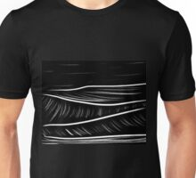 black and white oil pastels Unisex T-Shirt