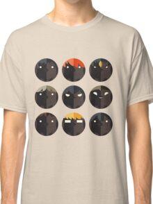 Hinagarasu Vector Patterns Classic T-Shirt