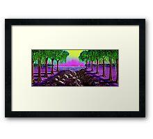 """Sail Into Cypress"" Framed Print"