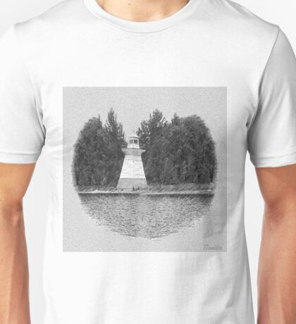 LIGHT HOUSE SKETCH EFFECT>>PICTURE,JOURNAL,SCARF,PILLOW,TOTE BAG..VARIOUS APPAREL Unisex T-Shirt