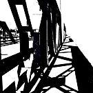Bridge Shadow by Peter Simpson