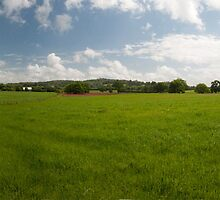 Devon Panorama by Rob Hawkins