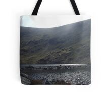 glacial corrie and tarn - borrowdale valley Tote Bag