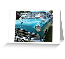 Ford Zephyr Greeting Card