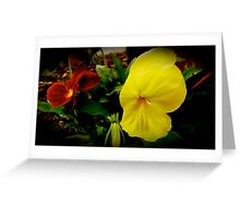 Jamaican Flower Greeting Card