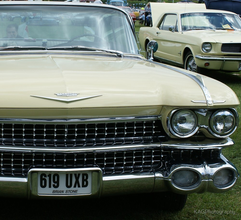 Classic Cadillac by KAGPhotography