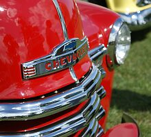 Chevrolet Red by KAGPhotography