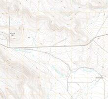 USGS Topo Map Oregon Virtue Flat 20110831 TM Sticker
