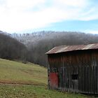 Barn - Valley Head, WV by searchlight