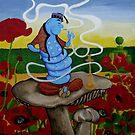 The Blue Caterpillar by Anni Morris