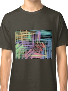 oil pastels pattern Classic T-Shirt