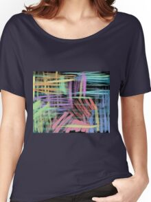 oil pastels pattern Women's Relaxed Fit T-Shirt