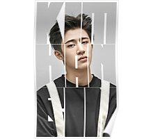iKON B.I 'Kim Han Bin' Typography Poster