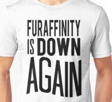 FA is down... AGAIN     -black version- Unisex T-Shirt