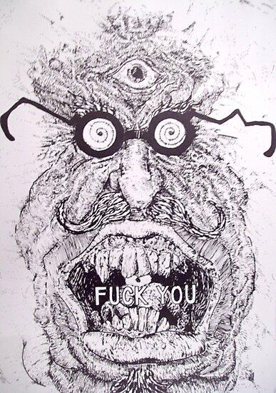 FUCK YOU by john michael  barone