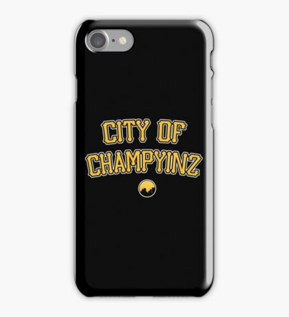 City of Champyinz iPhone Case/Skin
