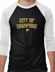 City of Champyinz Men's Baseball ¾ T-Shirt