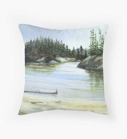 Hattie Cove - Pukaskwa National Park - Heron Bay Ontario Canada Throw Pillow