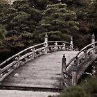Bridge at Kyoto Imperial Palace by Margaret Goodwin