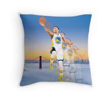 Motion Curry Throw Pillow