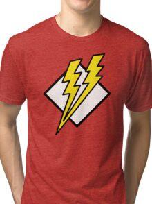 double lightning Tri-blend T-Shirt