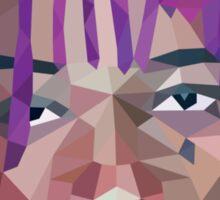 Wiz Khalifa Purp Lowpoly Sticker