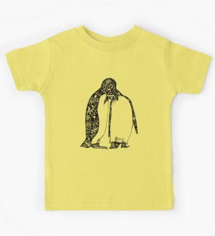 Penguin Hug Kids Tee