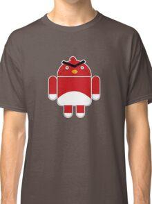 Droidbird (red bird) Classic T-Shirt