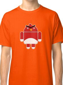 Droidbird (red bird) Classic T-Shirt