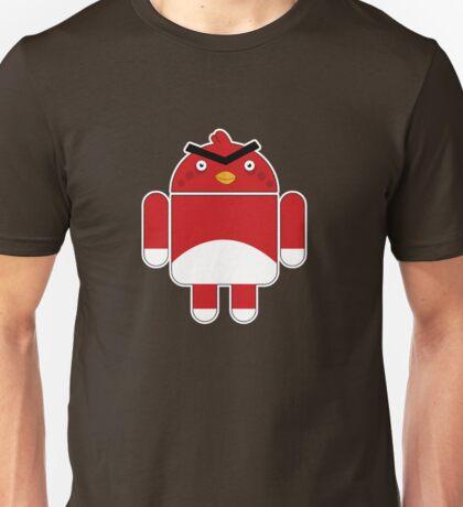 Droidbird (red bird) Unisex T-Shirt
